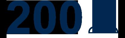 200 Mitarbeiter